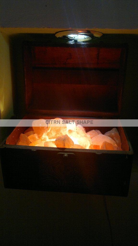 Himalayan Salt Lamps Bangkok : wooden